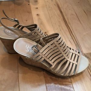 Franco Sarto wedges. Worn but good condition. 7.5
